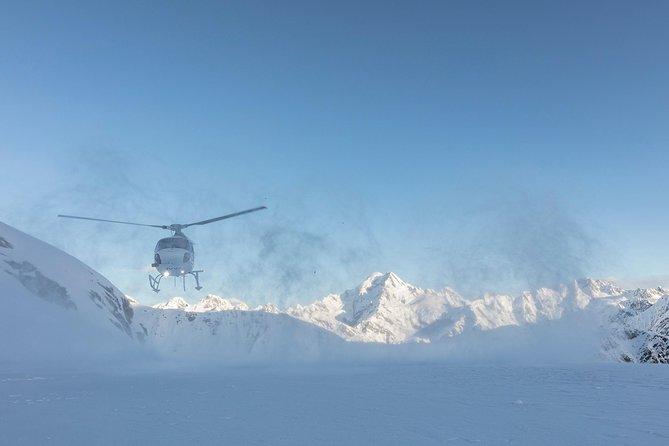 Twin Glaciers and Aoraki Mount Cook with Vantage Helicopters, Glaciares Franz Josef y Fox, New Zealand