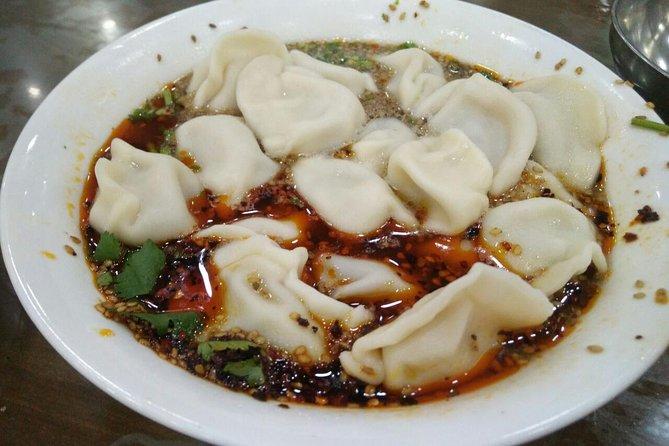 Xi'an Gourmet Walking Tour at Night, Sian, CHINA