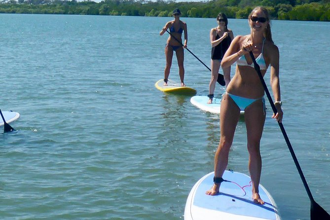 Stand Up Paddle Double Island Lesson, Rainbow Beach, AUSTRALIA