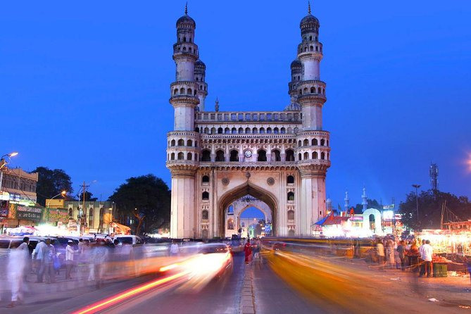 Book tickets in advance to avoid waiting in long lines. Enjoy a hassle-free visit to Charminar in Hyderabad. Upgrade your tour to include optional guided tours and Transfers.