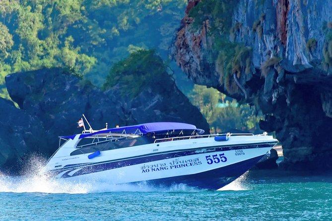 Excursión de un día desde Phuket a las islas alrededor de Krabi en ferry y paseo en lancha motora, Phuket, TAILANDIA