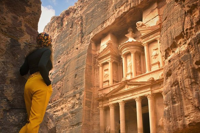 This private day tour brings you to the marvelous Petra Archaeological Park. With your English speaking driver enjoy a hassle free drive to Petra. From your private licensed tour guide learn about the history and uniqueness of the site, known as one New Seven Wonders of the World.