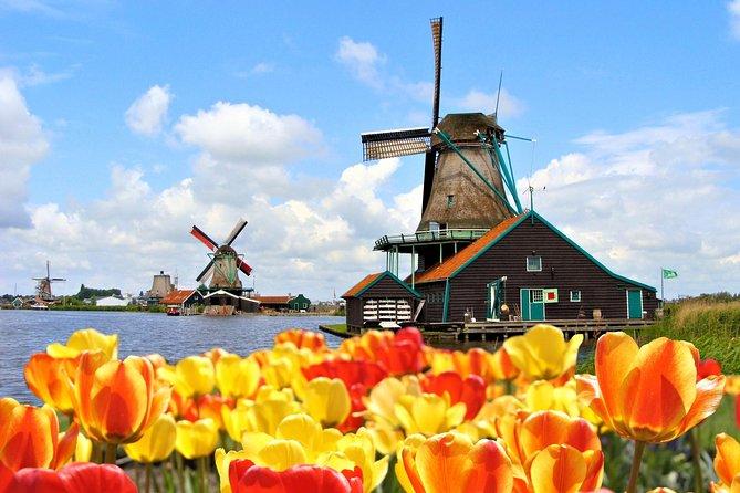 Excursión de día completo a Keukenhof y Zaanse Schans desde Ámsterdam incl. crucero gratuito por los canales, Amsterdam, HOLANDA