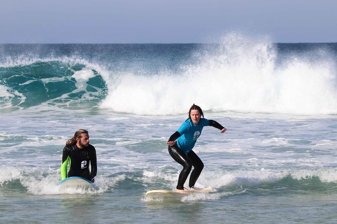 Surf Class at Corralejo, Fuerteventura, ESPAÑA
