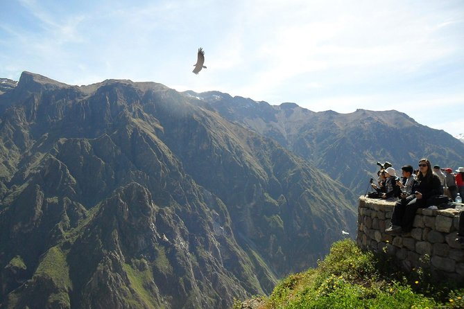 We will take you to one of the deepest and biggest canyons in the world. The Colca Canyon is deeper than the Grand Canyon! The area surrounding the Canyon is famed for its traditional and colorful towns which you will pass through along the way. In the Canyon you can find over 100 kinds of birds, over 300 types of plants and more than 30 types of cactus. The highest point of the Canyon is Ampato at 6388 meters above sea level. These snow-capped peaks form an impressive backdrop to the Canyon. The Andean Condor Bird can weigh up to 12 kg with a wingspan of over 3 metres! The CRUZ DE CONDOR viewpoint is famed as the best place in South America to see the Andean Condor in flight.<br>