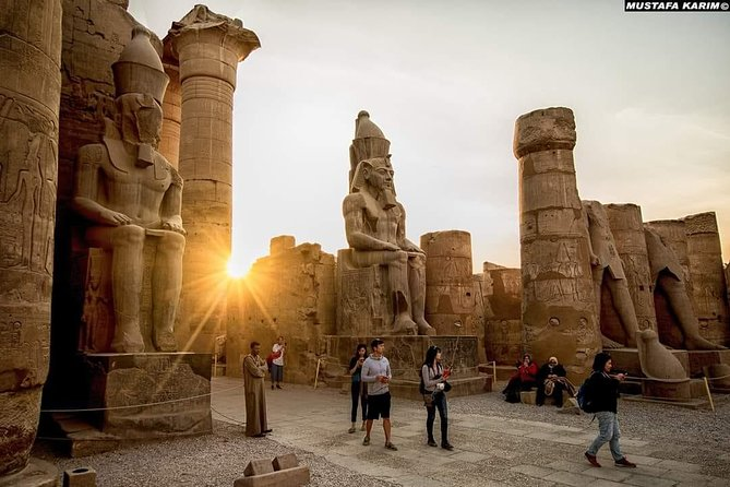 Combine the rich heritage of Cairo with the magic of a 4-day, 3-nights Nile cruise on this comprehensive Egypt vacation package—a must for any lover of history. In Cairo, discover the Pyramids of Giza, the Egyptian Museum, In Luxor, see the temples of Karnak, Luxor, and Hatsheput, and stroll the Valley of the Kings, cruising to Edfu, Kom Ombo, and Aswan. Tour includes flight, private hotel and airport transfers, and most meals. Discover Cairo, Luxor, and Aswan, and enjoy a 3-night Nile cruise Follow the path of the pharaohs at the Pyramids and Valley of the Kings Savor a range of delicious meals on board your cruise ship Relax with private airport, hotel, and port transfers See all that Egypt has to offer on a week-long private excursion from Cairo. stop at the Abu Simbel, Komombo, Karnak and Edfu temples; and learn about Egyptian history and culture. Enjoy a worry-free excursion with all accommodation, transportation, and most meals taken care of.<br>