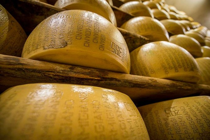 Put on a lab coat and get ready to visit a Parmigiano Reggiano cheese factory! Discover the production secrets, see where the cows are bred and milk, witness the whole cheesemaking process, then complete the visit with a delicious tasting!<br><br>• Visit to the cowshed, the Parmigiano Reggiano's cheese factory and seasoning room<br>• Welcome breakfast and Tasting of 3 seasonings of Parmigiano Reggiano, traditional cold cuts, a glass of Lambrusco wine and other local products included<br>• Claudio will uncover and explain every step of the Parmigiano Reggiano making process<br>• Disposable gown and hygienic cap to visit the cheese factory will be provided<br>• This experience is bookable as a private event only<br>