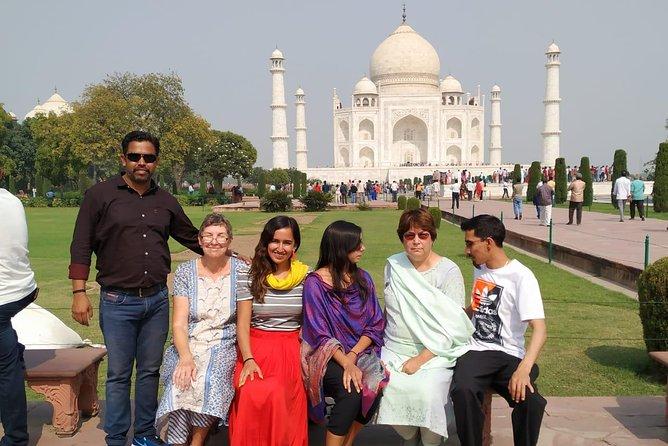 Escapada de 1 día a Agra desde Delhi en coche con almuerzo de 5 estrellas, Nueva Delhi, INDIA