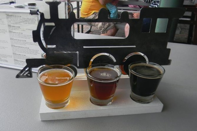 TRIPS DEPART AT 12:00 NOON<br><br>Beer lovers look no further... Our Traverse City Microbrew tour will take your palate on a joy ride of options. Blondes and Lagers and Double IPAs... OH MY! Spend one hour at each brewery and sample a variety of options & brew styles that are both unique and thirst quenching. Traverse City has become a hub of craft brewing and you will certainly find beers you can enjoy during any season you visit.<br>***DISCLAIMER: While most of our tours are full; If we have only 4 or fewer guests booked for a tour, we will change to a 4 hour tour and skip Brewery Terra Firma<br>***GRATUITY of 20 percent for the driver is recommended but not required.