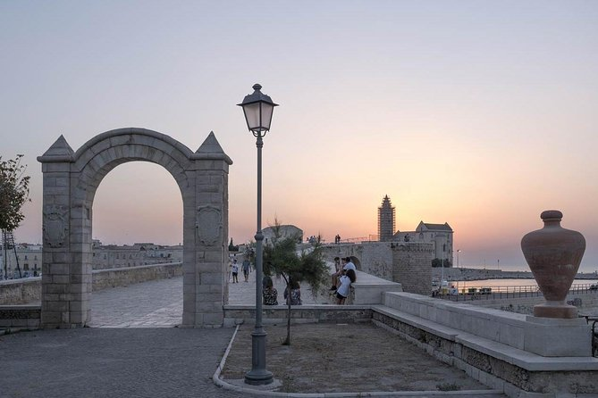 TRANI and Castel Del Monte UNESCO from your accomodation, Bari, ITALY
