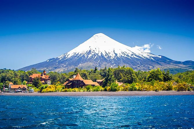 You will start this full day tour from Puerto Varas into the Vicente Perez Rosales National Park bordering Lake Llanquihue.