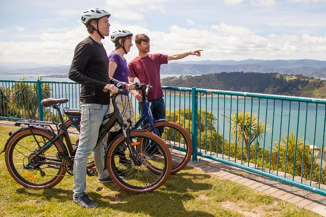 From the centrally located Waterfront to the quiet bays and panoramic lookouts, you'll be enthralled from start to finish. These quality electric bikes are easy to use and suitable for any level of fitness. If you can ride a bike, you can ride an eBike! Your guide will keep you safe with helmets provided and full riding instruction. The tour is lighthearted, fun and engaging with the focus on riding and finding the best view points. You'll get a local's perspective on the culture and history of our vibrant city and surrounding bays.