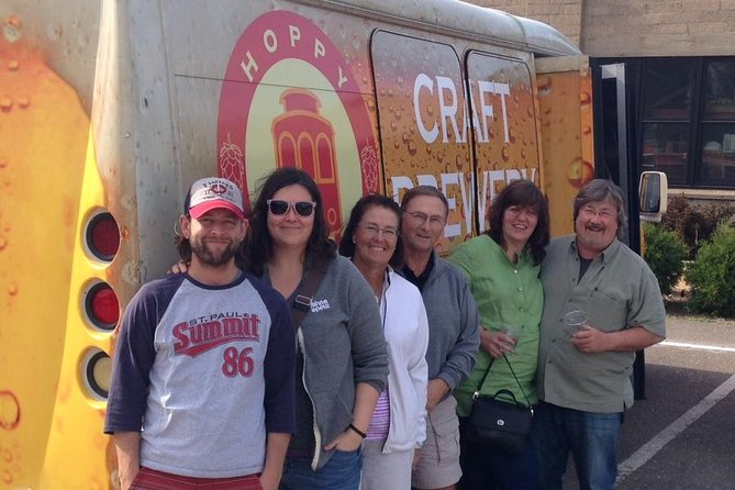 Craft public brewery tour of local breweries in the Twin Cities area. Tours include a drink at each brewery stop. Your tour guide will describe each brewery, provide tasting recommendations, and delight you with fun facts about the Twin Cities.