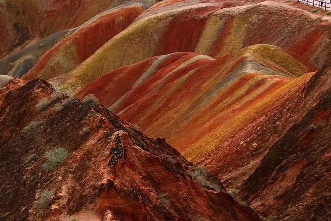 Private Day Tour: Horse Hoof Temple Grottoes and Zhangye Danxia Landform, Zhangye, CHINA