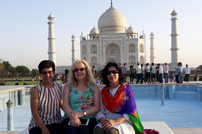 Enjoy The Trip to Taj Mahal, Agra in one day from Delhi by Gatimaan Express Train reach the Agra very short period. Which departs Delhi at 08:10 AM and reach Agra at 09:50 AM. snacks will be served on the train. Visit the Taj Mahal, Agra Fort and Mehtab Bagh in one day. During this tour Explore the white marble mausoleum of the Taj Mahal. Get the chance to sample Mughal cuisine at a luxury restaurant. All inclusive in package, lunch, AC transport for pickup, drop and Agra sightseeing, Well knowledge local tour guide etc.