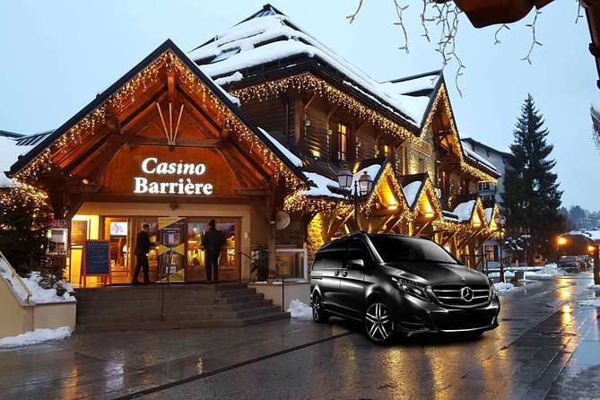 Airport Chambery - private VIP transfer to Megève on Mercedes V-class, Chamonix, FRANCIA