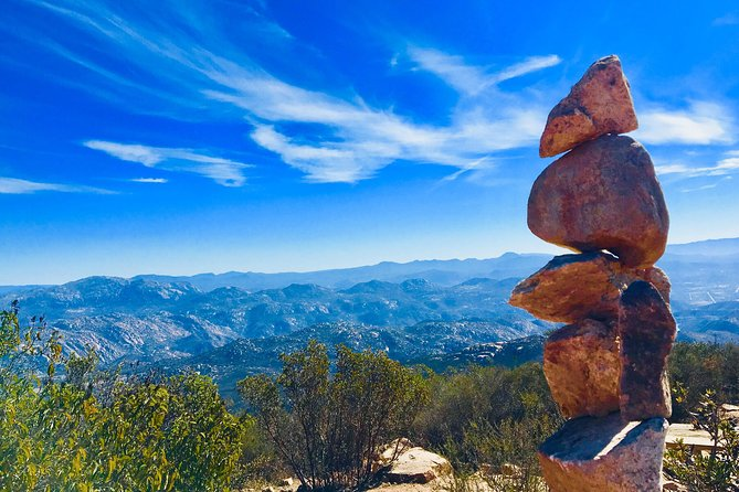 Hiking and Yoga on Iron Mountain, San Diego, CA, UNITED STATES