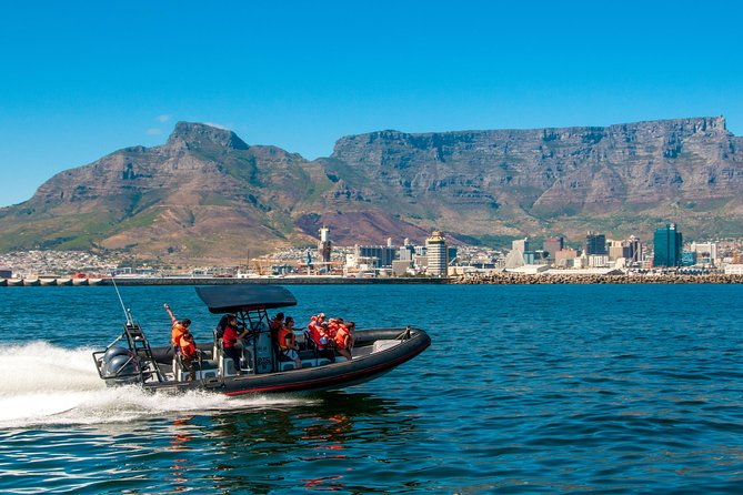 Looking for the ultimate eco adventure? JoinWaterfront Charters for an Ocean Safari experience: a fun ride aboard a RIB along Cape Town's Table Bay the coastline. <br><br>Our Skippers will share with you the beauty of the ocean as we well as the beauty of the cape town Atlantic coastline on our unique adventure boats. Watch for whales, African penguins, Cape fur seals, dolphins, basking sharks, sunfish and many species of bird life. Adrenaline plus an eco-tour!