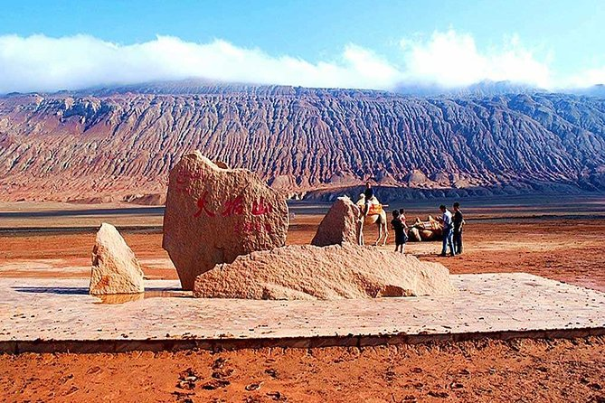 Experience the best of Turpan on a full-day customized tour from Urumqi. Enjoy round trip ride on the bullet train, a private car and a knowledgeable local guide and customize the tour to your must- see locations. Your personal guide will help you design the perfect itinerary, you can chose 2-3 attractions to visit, such as Jiaohe Ancient City, Gaochang Ancient City, Karez Irrigation System, Emin Minaret, Bezklik Thousand Buddha Caves and Flame Mountain. The tour includes tasty local lunch, all entrance fee(2-3 attractions), Urumqi to Turpan round trip train tickets, an English-speaking guide and transport by private vehicle.