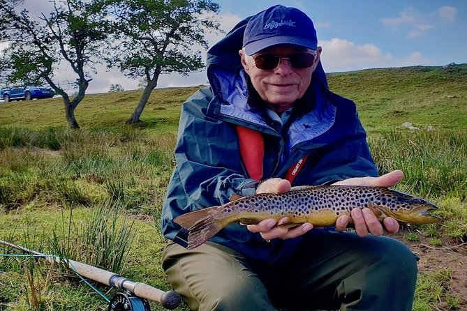 Guided Fly fishing for Trout in Scotland, Inverness, ESCOCIA