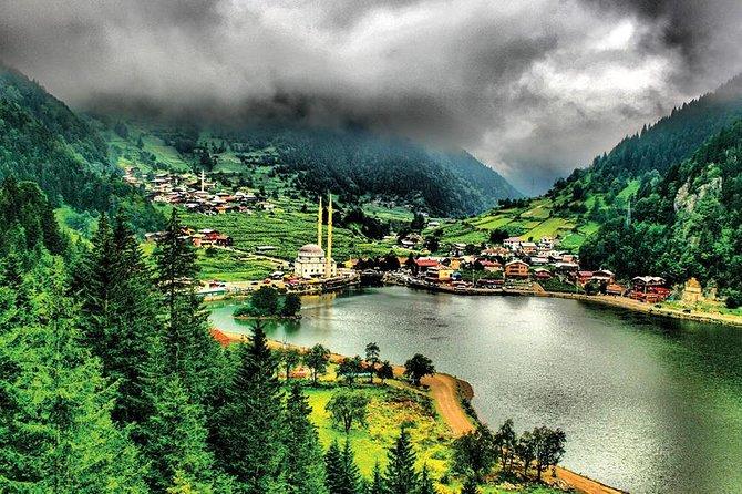visiting ayasofia museum, Ataturk pavilion, Boztepe, Sera lake, tea factory,uzungol, waterfall,firtina valley, ayder tabelland,