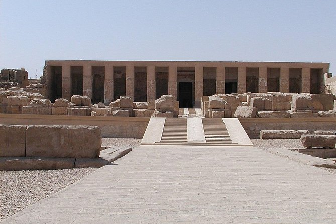 Take the chance to visit Abidos Temple which is considered one of the most important monuments in Egypt and the world. This for its religious and historical importance at the age of ancient Egypt. It's the temple of king Siti I the father of Ramses II. It is characterized by the exactness of delineation, the fantastic design and the retention of its colors.<br><br>