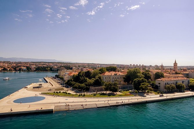 Pick up in the morning in your accommodation, nice drive to Zadar. Free time for exploring city. Afternoon pick up and drive back.