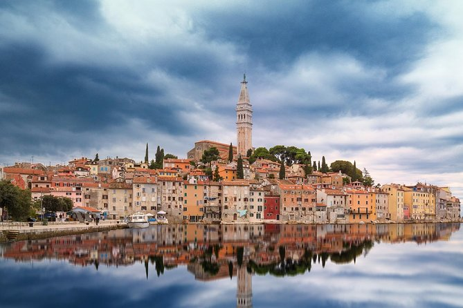 Pick up in the morning in your accommodation, nice drive to first stop Pula, then to Rovinj and Motovun, Capital. Free time for exploring. Afternoon pick up and drive back.