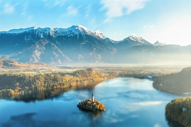 Pick up in the morning in your accommodation, nice drive to first stop Lake Bled, then to Ljubljana, Capital od Slovenia. Free time for exploring. Afternoon pick up and drive back.