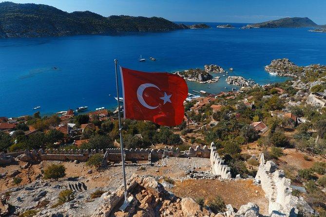 Shared Sunken City of Kekova Boat Tour including lunch, Kas, Turkey