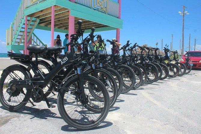 CocoNutz Cruisers Electric Bicycle Tour, Freeport, BAHAMAS