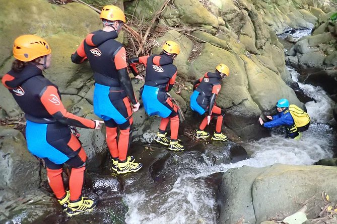 Canyoning First Experience, Terceira, PORTUGAL
