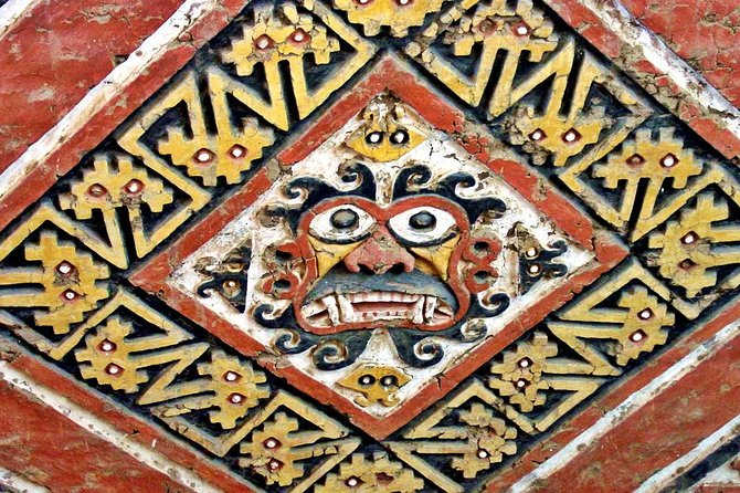 Visit the Temple of the Sun, a stepped pyramid likely used for business and military, and the Temple of the Moon, the Moche's spiritual center.