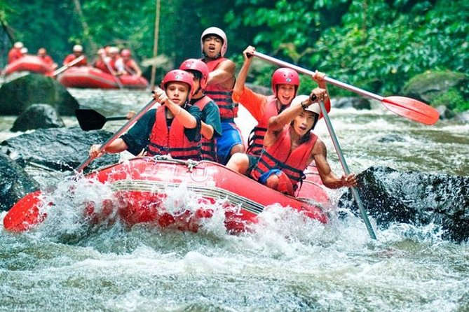 AYUNG RIVER RAFTING IS ONE OF THE BEST WHITE WATER RIVER RAFTING ACTIVITY IN NORTHERN PART OF UBUD BALI <br><br>Ayung Rafting during dry season is great fun for the entire family, Just enjoy the wildlife as you meander down a safe river with great staff. If you would like to discover a hidden waterfall than you can find it here, scenery and wild life that you can get here such as rice field, jungle, kingfisher and water fall. If you do Ayung Rafting Bali than you will enjoy Bali rain forest and very well maintain rice field<br><br>You may also able to see wild life on Bali rain forest such as beautiful Blue Javan Kingfisher. Ayung Rafting offer a very unique sensation that you won't get it on other places. The river has clear water and very fresh if you would like to swim, Ayung River has 12 kilometers route and 2 hours rafting adventure that you will get. The river offer class II – III level rapids which is very appropriate for beginner and children.