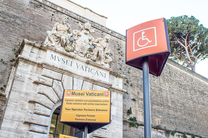 Wheelchair users can have a difficult time accessing some of Rome's wonderful sights.   However, you can certainly enjoy the wonders of the Vatican and Sistine Chapel with this specially designed tour.  No waiting in queues and headsets are provided so that you can clearly hear everything the guide has to tell you.