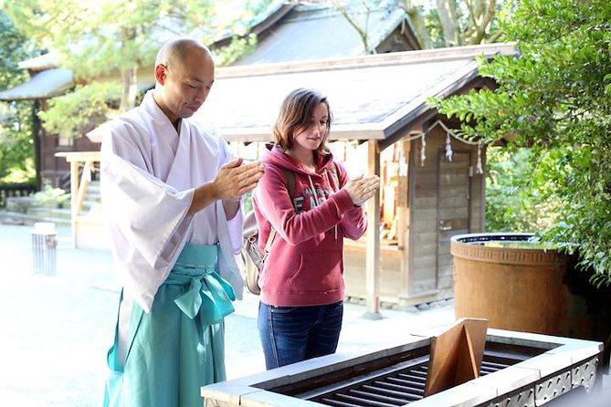 This experience is a great way to know the difference between a Temple and a Shrine in Japan. <br><br>There are different rules and customs so knowing the difference will help you during your trip in Japan. <br><br>With this experience a real Shinto priest will show you the basic manners and etiquette or entering a shrine. <br><br>You will have a chance to write your wish onto a votive Shinto tablet. <br><br>There are also ceremonial events that you can witness such as offering a scared tree and seeing the Miko doing a ritual dance.