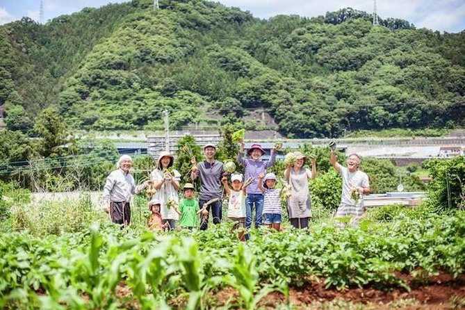 With this tour you will be able to experience the local side of Japan, Satoyama. <br><br>A local family will welcome you with open arms, while teaching you the daily farm life. <br><br>There is a guided walking tour when you first get off the station, where you will head to the Fujino Art Sanctuary. <br><br>You will be participating in making lunch with the local ingredients with your host family. <br><br>Enjoy the great outdoors and the country side of Japan with this tour.