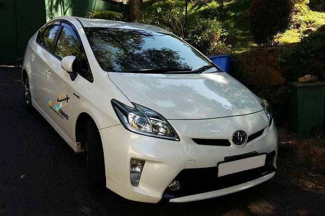 The luxury Car (Toyota Prius / Axio / Honda Fit Shuttle) with Professional Driver for One day use. Maximum 100 Km per Day.Maximum can accommodate 03 Passengers with 03 Luggage. All the site seen will cover during the visit.