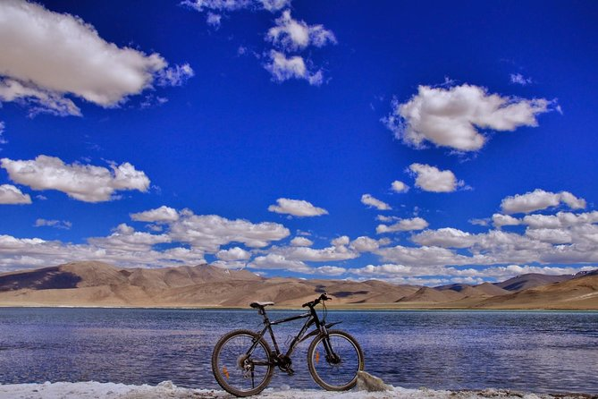 This is that once in a lifetime event that cyclists around the world dream of. The expedition starts at Manali & makes you cross 6 passes with a maximum altitude of Khardung La (5602 mts). Each one of these passes is unique in their own stature: Bara Lachha La - one of the most loopy pass, Naki La & Lachu lung La are like Twin brothers standing just next to each other, Rohtang Pass is the most unpredictable and moody of them all, and last but not the least & the toughest to cross - Tanglang La (5360 mts).Overwhelming..right? Well there is much much more. Gata loops with 22 curves can send a fine chill up your spine when you see it from the top, Moray plains is one of the highest & coldest deserts in the world, snow laden peaks, rivers like Chandra-Bhaga & Indus, with trip culmination at Leh needs no intro which culminates your expedition in a perfect way.<br><br> • Experienced & Certified Leader <br><br> • Best in class equipment & MTB