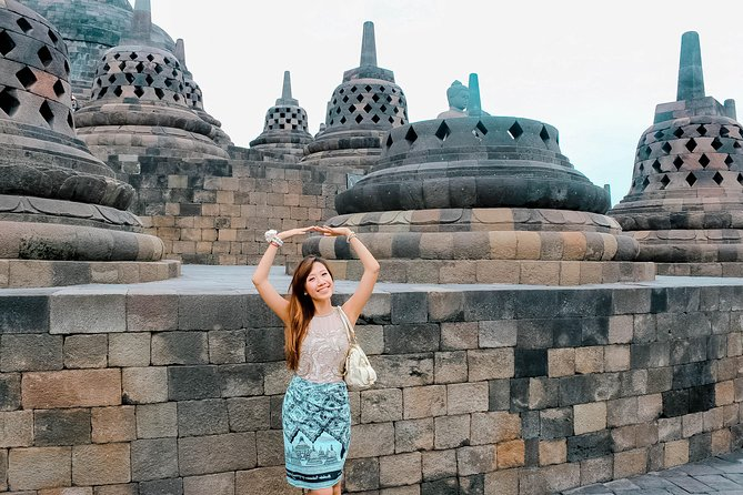 Experience the extraordinary holiday in Yogyakarta by visiting the magnificent temples! We combine the experiences of culture, nature and adventure from a hill with the backdrop of Borobudur temple and volcanoes in central Java followed by a visit to Mendut & Pawon temples. There will be an English speaking guide who will explain the history and symbolism of the temples during your spectacular temple tour.<br>Highlights:<br> • Enjoy the spectacular view of Borobudur followed by Mendut & Pawon temples tour <br> • Explore the UNESCO World Heritage sites of Borobudur <br> • Admission Fees included to avoid hassle