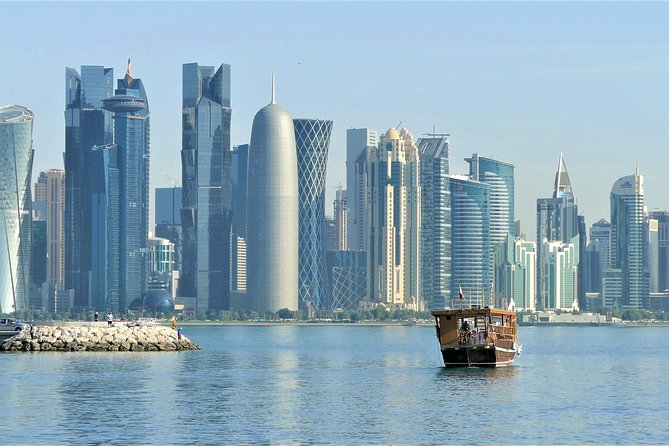 Have a long layover in Doha Airport?Defiantly takeadvantageof our(4 hrs Private Transit Doha City Tour),visit Doha corniche, the old dhow boat harbor, Katara culture village, thepearland Souqwaqif.