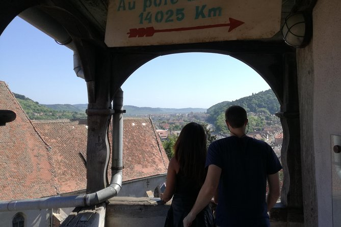 After one hour scenic drive from Targu Mureșyou will explore a still inhabited citadel of Sighișoara for 2-3 hours andenjoy the beautiful medieval architecture , a romantic saxon city who still preserve his charm , a two hours walk plus a climb in to the Clock Tower ,  then head back to your hotel in Targu Mures