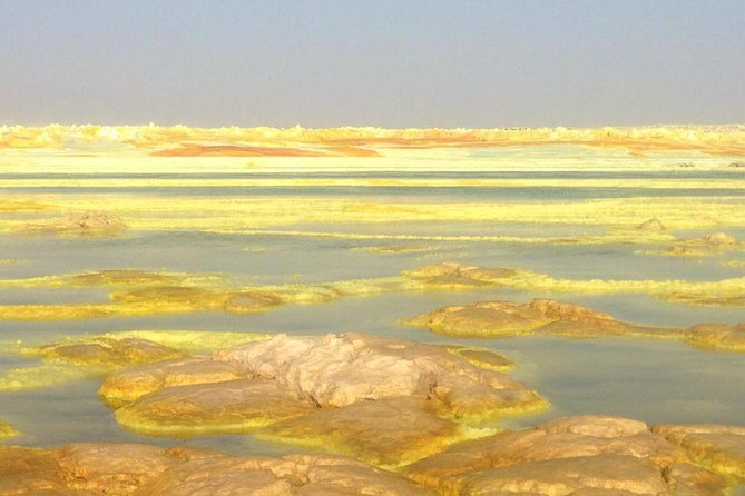 Guided budget small group tour to the hottest place on earth, the Danakil Depression (Erta Ale and Dallol)