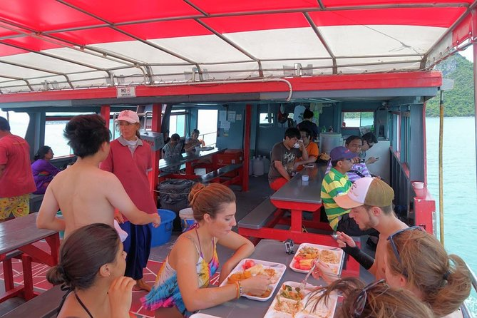 Recorrido por isla Samui al parque marino de Ang Thong con un barco grande más kayak, Koh Samui, TAILANDIA