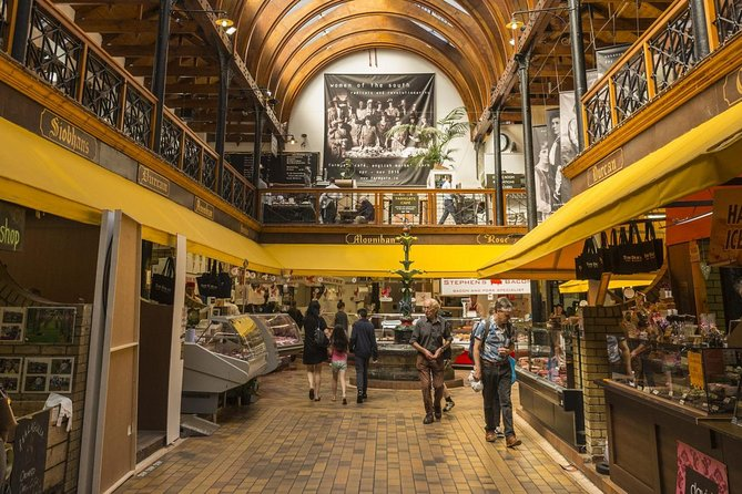 Cork Culinary tour takes in the very best the city has to offer. With artisan cheese, fresh seafood, local handmade bread, chutneys/marmalade and gourmet sausage washed down with a little Cork banter, this is a fun food tour. Visitors are welcomed to the 'city of thousand welcomes' with one of our experienced, local guides who share their passion and knowledge of Cork. The history is rich and colourful like the individuals who makes Cork city a place to remember. <br>Discover the history of Ireland's ancient fish and beef markets, the salting of ling and the women who worked these markets. <br>The tour wanders through Cork's famous food and beverage market, the English Market, in operation since the 18th century. <br>Here you'll get to chat with local traders and have 'the craic'( Irish for fun) sampling a host of delights from fish, cheese, bread and chocolates. The tour will finish with a light lunch in one of the many gastronomy pubs in the heart of the city.