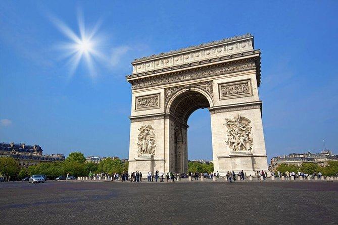 Escapada de un día de lujo con guía a París con almuerzo con champán en la Torre Eiffel, Londres, REINO UNIDO