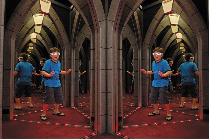 Come face-to-face with yourself over and over as you attempt to find your way out of Ripley's Mirror Maze, a labyrinth of mirrors and LED lights. Your ticket is good for all day, so you can go through as many times as you like. Want a challenge? Go through a second or third time; the maze is a different experience every time! Don't worry if you get lost, a search party is sent every half hour.
