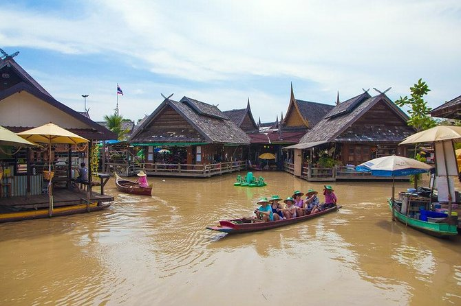 Pattaya Floating Market, Pattaya, Tailândia