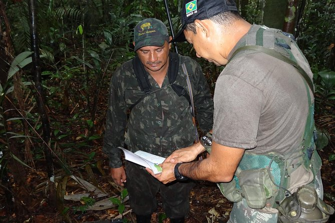 Jungle survival training 3 days, by ex military experts, Manaus, BRASIL