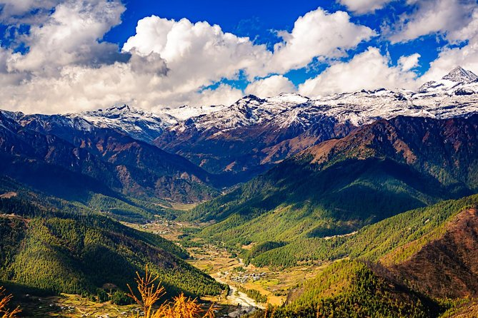 6 NightsExclusive Bhutan Touris the package of 7 days tour in the Kingdom of Thunder Dragon. The tour encompasses the famous cities of Bhutan including the colorful Paro, tiny capital Thimphu, the fertile valley Punakha, and the beautiful Haa Valley. Best of Bhutan Tour also lets an opportunity to hike to the Taktsang Monastery, also known as the Tiger's Nest, a unique landmark of Bhutan and to the Khamsum Yueley Namgyel Chorten. The tours goes around the green valley of Paro, proceeding towards the tiny capital Thimphu and the old capital-Punakha and ends back at Paro.